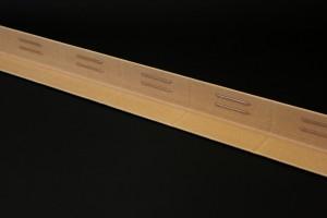 Cornière carton adhésives pour le stockage de marchandises