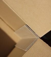 corniere droite pour protection d'angle et calage de charges