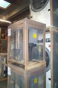 Cornière carton pour la protection d'angle du matériel électroménager